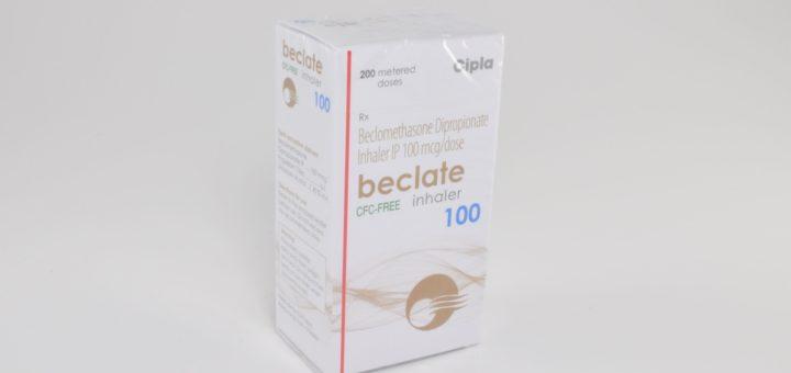 BECLATE INHALER 100 MCG