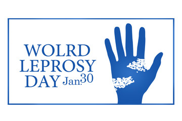 World leprosy eradication day