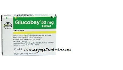 Glucobay 50 mg uses