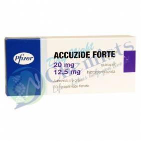 Accuzide Forte 20/12.5 Mg Tablet