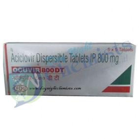 Acivir DT 800mg Tablet