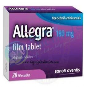 Allegra 180 Mg