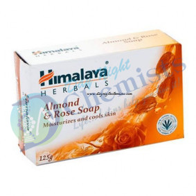 ALMOND & ROSE SOAP (HIMALAYA)125 GM