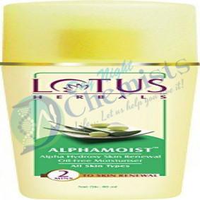 Alphamoist (Alpha Hydroxy Skin Renewal Oil Free Moisturiser) 80 ML