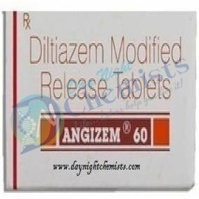 Angizem 60 Mg Tablet