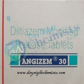 Angizem 30 Mg Tablet