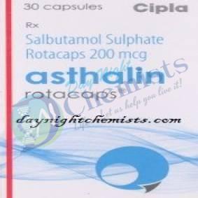 ASTHALIN ROTACAPS 200 MCG