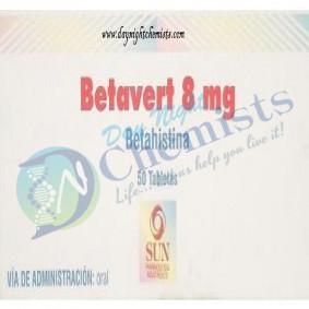 Betavert 8 MG Tablet