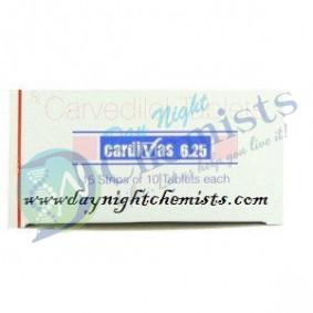 CARDIVAS 6.25 MILLIGRAM