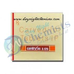 CARDIVAS 3.125 MILLIGRAM