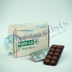 Ciplar 40 MG Tablet (Propranolol)