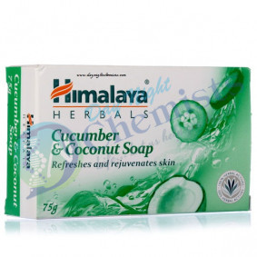 CUCUMBER & COCONUT SOAP (HIMALAYA) 75 GM