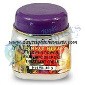 S/H FLOWER POWER AYURVEDIC DEEP SKIN TREATMENT CREAM 40 GRAMS