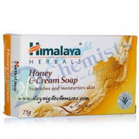 HONEY & CREAM SOAP (HIMALAYA) 75 GM