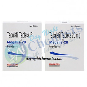 Megalis 20 MG Tablet (Tadalafil)