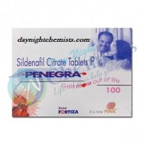 Penegra 100 MG Tablet (Sildenafil)