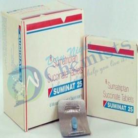 Suminat 25 mg Tablet