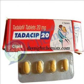Tadacip 20 MG Tablet (Tadalafil)