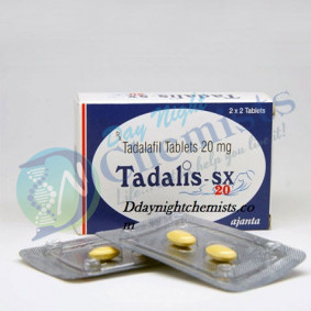 Tadalis Sx 20 MG Tablet (Tadalafil)