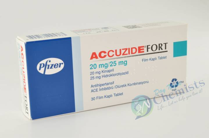 Accuzide Forte 20/25 Mg Tablet