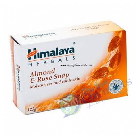 ALMOND & ROSE SOAP (HIMALAYA)125 GM