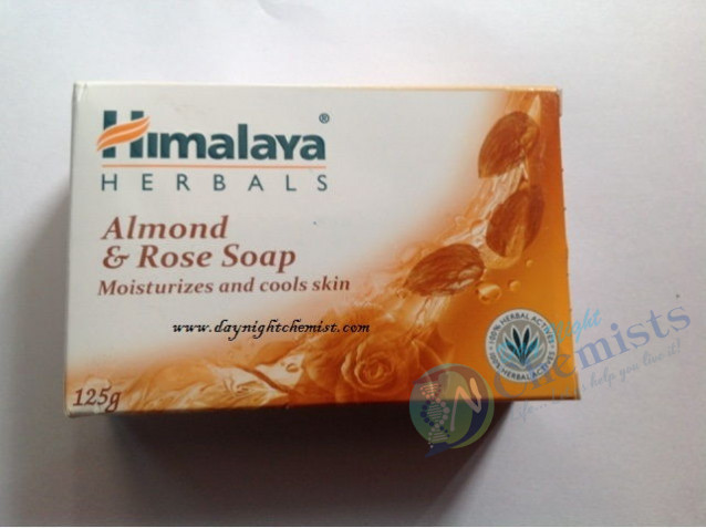 ALMOND & ROSE SHOP (HIMALAYA) 125 GRAMS