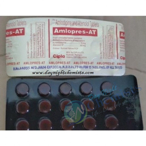 Amlopres 5 + 50 MG Tablet
