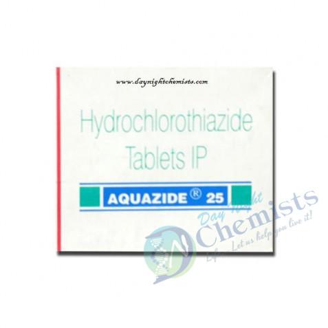 Aquazide 25 mg Tablet