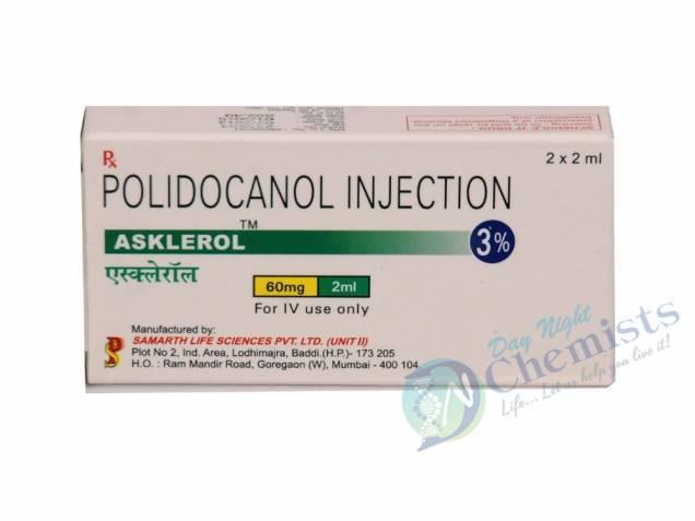 Asklerol 60 Mg (Polidocanol Injection 2ML)