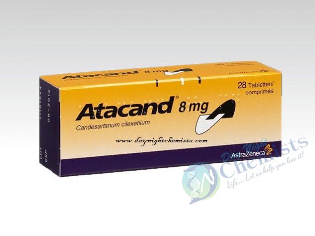 Atacand 8 Mg Tablets
