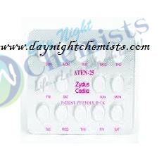 Aten 25 MG Tablet