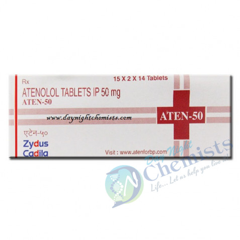 Aten 50 MG Tablet