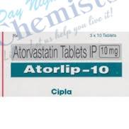 Atorlip 10 MG Tablet