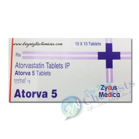 Atorvastatin 5 MG Tablet