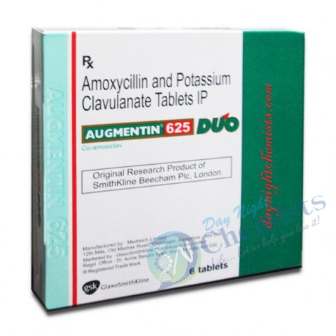 Augmentin (500+125) 625 DUO Tablet