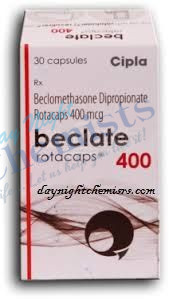 BECLATE ROTACAPS 400 MCG