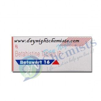 Betavert 16 MG Tablet (Betahistine)