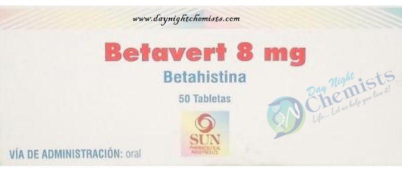 Betavert 8 Mg