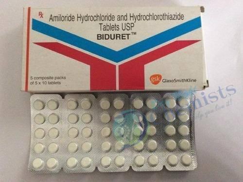 Biduret 5 mg/50 mg Tablet