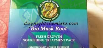 BIO MUSK ROOT PACK (FRESH GROWTH NOURSHING TREATMENT PACK)