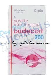 BUDECORT INHALER 200 MCG (200 MDI)