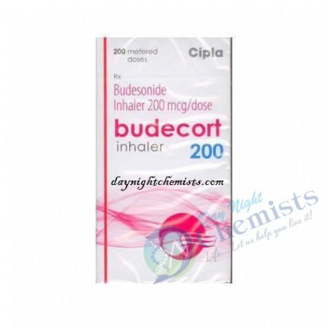 BUDECORT INHALER 200 MCG