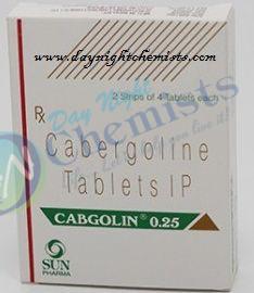 Cabgolin 0.25 mg Tablet