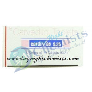 Cardivas 6.25 MG Tablet