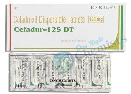 Cefadur 125 MG Tablet DT