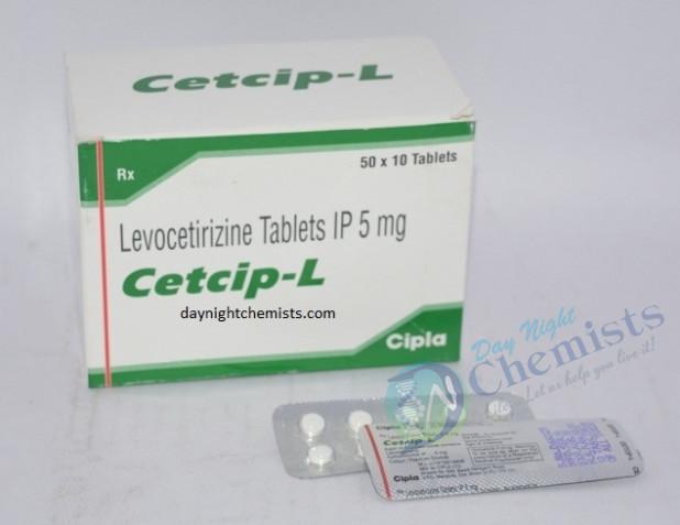 Cetcip-L 5 MG Tablet