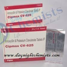 Cipmox CV 625 (500+125) Mg