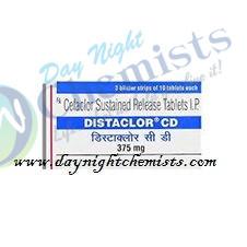 Distaclor CD 375mg Tablet