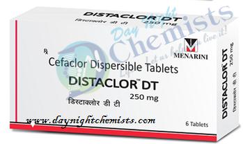 Distaclor DT 250mg Tablet