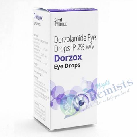 Dorzox 2% (5 Ml) Eye Drop